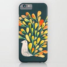 Watercolor Peacock Slim Case iPhone 6s
