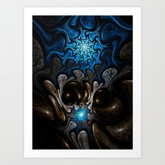 Elements: Water Art Print