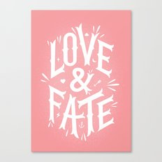 Love & Fate Canvas Print