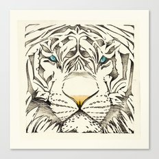 The White Tiger Canvas Print