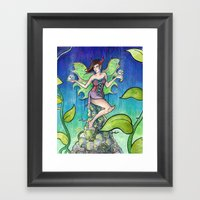 The Fairy Framed Art Print