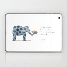 polka dot elephants serving us pie Laptop & iPad Skin