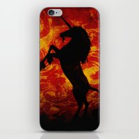 Dark Unicorn iPhone & iPod Skin