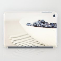 Blueberries in Bowl - Kitchen Art - Food Photography iPad Case