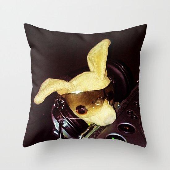 DJ Chalupa Throw Pillow