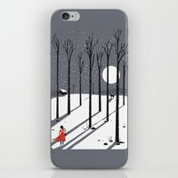 little red cap iPhone & iPod Skin