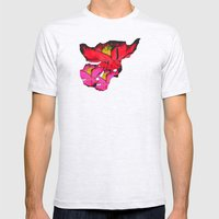Rouge Floris Mens Fitted Tee Ash Grey SMALL