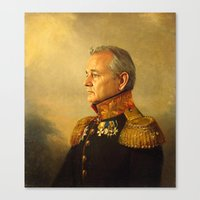 Canvas Prints featuring Bill Murray - replaceface by replaceface