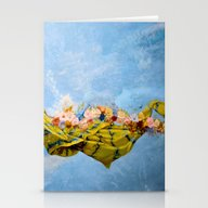 Breathe The Peace Breeze Stationery Cards