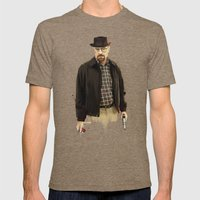 Heisenberg Mens Fitted Tee Tri-Coffee SMALL