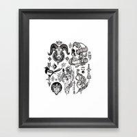 Lesser Alchemy Framed Art Print