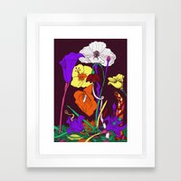 You are a rainbow Framed Art Print
