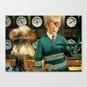 Atomic Boy Canvas Print