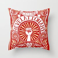 Revelationary Throw Pillow