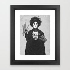 Bored With My Old Hairstyle Framed Art Print