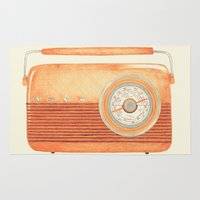 Radio Silence Rug