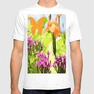 Walk With Me Mens Fitted Tee White SMALL