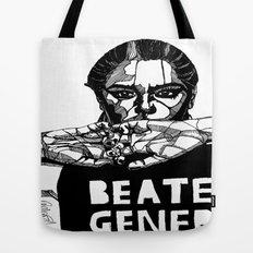 B&W Fashion Illustration - Beaten Generation Tote Bag