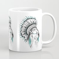 Indian Headdress Mug