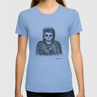 Crimson Ghost Womens Fitted Tee Athletic Blue SMALL