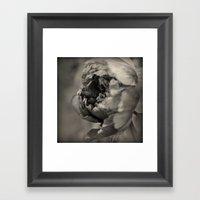 Quiet Dance Framed Art Print