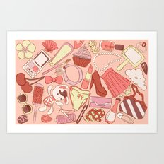 My favorite thing Art Print