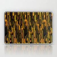 vertical brush orange version Laptop & iPad Skin