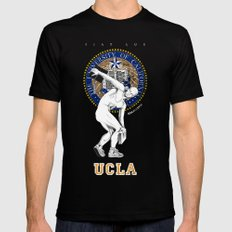 UCLA ...let there be light Black SMALL Mens Fitted Tee