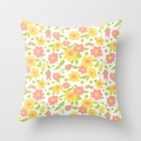 vintage 16 Throw Pillow