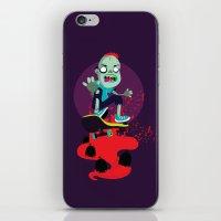 Skater zombie iPhone & iPod Skin