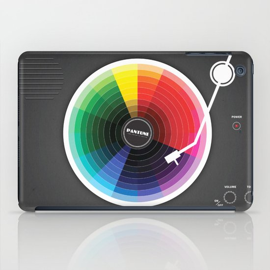 Pantune - The Color of Sound iPad Case