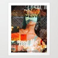 Solange der Vorrat reicht · Feed Me! 2 Art Print