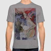 Brickred Jan Mens Fitted Tee Athletic Grey SMALL