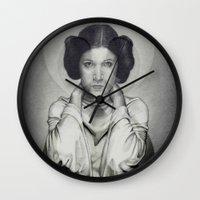 Star Wars Princess Leia Wall Clock
