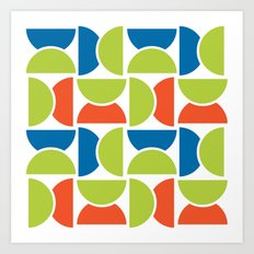 Lime Squeeze Art Print