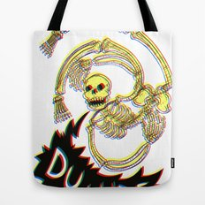 Skeleton Bro 3D Tote Bag