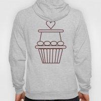 Cupcake Heart Hoody
