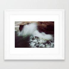 Guadalupe Wave Framed Art Print