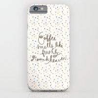 coffee iPhone 6 Slim Case