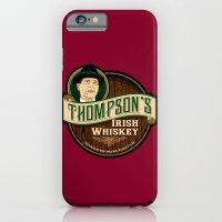 iPhone & iPod Case featuring Thompson's Irish Whiskey by Grady