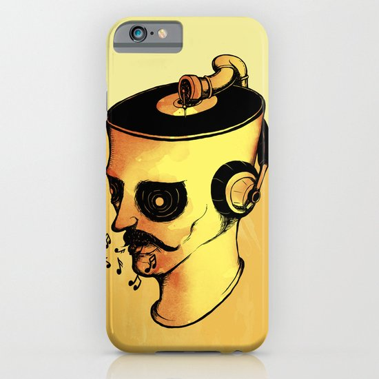 Record Player - ANALOG zine iPhone & iPod Case