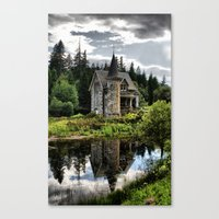 A Fairytale Gatelodge Canvas Print