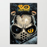 Issue #4 cover Canvas Print