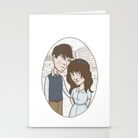 500 days of summer portrait. Stationery Cards