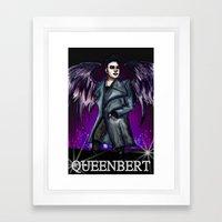 QUEENBERT Framed Art Print
