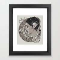 Merrill Framed Art Print