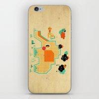 Elephant Playground iPhone & iPod Skin