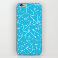 Ab Outline Electric iPhone & iPod Skin