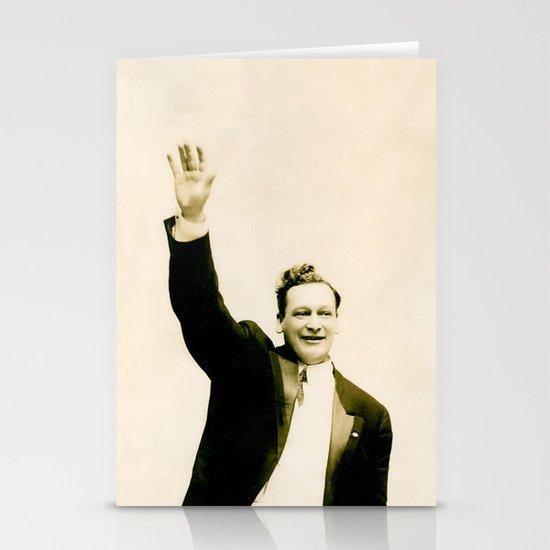 "Harvey Says ""Hi!"" Stationery Card"