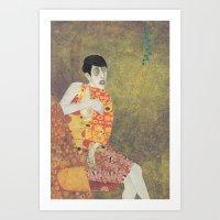 sylvia von klimt Art Print